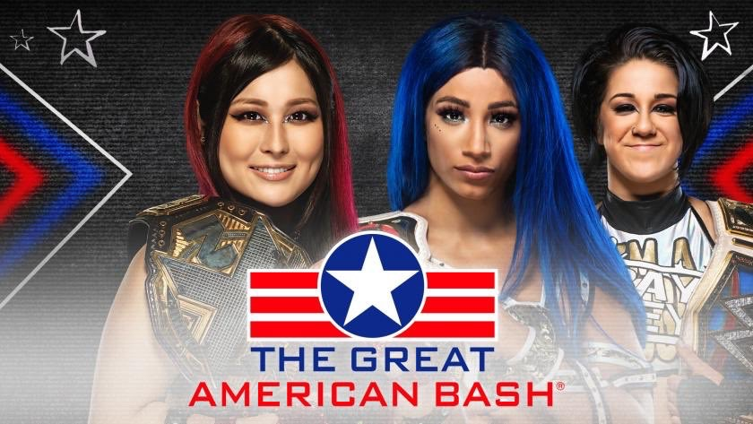 NXT Great American Bash Night 1 Preview Sasha Banks vs Io Shirai